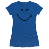 Juniors: Smiley World- Big Wink Shirt
