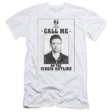Married With Children- Virgin Hotline Flyer Slim Fit T-shirts
