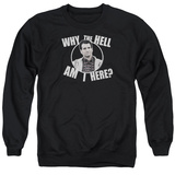 Crewneck Sweatshirt: Married With Children- Why Is Al Here T-shirts