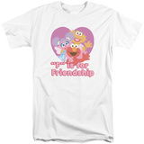 Sesame Street- F Is For Friendship (Big & Tall) Shirts