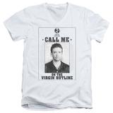 Married With Children- Virgin Hotline Flyer V-Neck V-Necks
