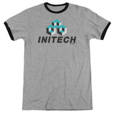 Office Space- Initech Logo Ringer T-shirts