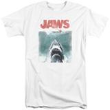Jaws - Vintage Poster (Big & Tall) T-shirts