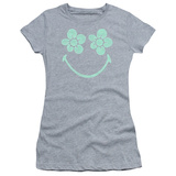 Juniors: Smiley World- Daisy Face Shirt