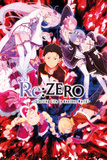 Re : Zero - Re-Zero Key Art Posters