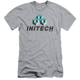 Office Space- Initech Logo Slim Fit T-Shirt