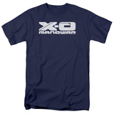 Valiant: Xo Manowar- Block Tech Logo T-shirts
