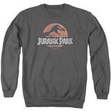 Crewneck Sweatshirt: Jurassic Park - Faded Logo T-Shirt