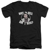 Married With Children- Why Is Al Here V-Neck V-Necks