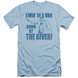 Saturday Night Live- Livin' In A Van Slim Fit T-Shirt