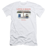 Office Space- Life Is A Beach Slim Fit Shirts