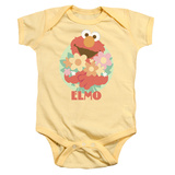 Infant: Sesame Street- Elmo Flowers For You Onesie Infant Onesie