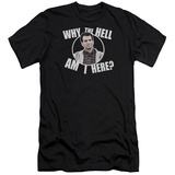 Married With Children- Why Is Al Here Slim Fit T-shirts