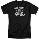 Married With Children- Why Is Al Here (Big & Tall) T-Shirt