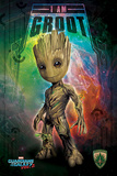 Guardians Of The Galaxy Vol. 2 - I Am Groot Plakater