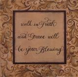 Walk in Faith Láminas por Pamela Smith-Desgrosellier