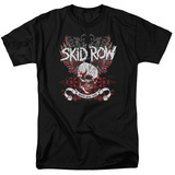 Skid Row- Youth Gone Wild Winged Skull T-Shirt