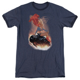 Supergirl- Cosmic Contemplation Ringer Shirt
