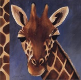 Exotic Giraffe - Mini Art by Tara Gamel