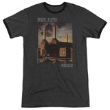 Pink Floyd- Animals Distressed Ringer Shirts