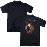 Polo: Syd Barrett- Madcap Syd (Back Print) Shirts