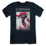 Superman- Hero For President (Premium) T-shirts
