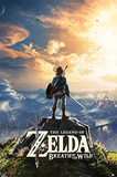 The Legend Of Zelda: Breath Of The Wild - Sunset Kunstdruck