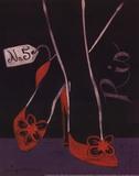 High Heels Rio Posters by Jennifer Matla