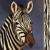 Exotic Zebra - Mini Posters by Tara Gamel