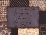 Dogs in Heaven Print by Pamela Smith-Desgrosellier
