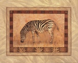 Zebra - mini Prints by Pamela Gladding
