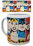 DC Comics - DC Comics - Faces Mug Taza
