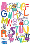 Peppa Pig - Alphabet Plakater