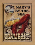Clam Bake Print by Catherine Jones