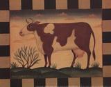 Farm Cow Posters by Diane Ulmer Pedersen