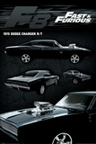 Fast & Furious 8: Fate Of The Furious - Dodge Charger Affiche