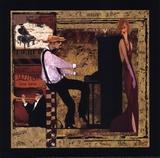 Jazz Piano - Petite Prints by Inc., CW Designs