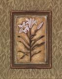 Peaceful Flowers II - Mini Prints by Charlene Audrey
