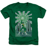 Juvenile: Power Rangers- Green Ranger Deco T-Shirt