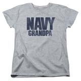 Womens:  Navy- Grandpa T-Shirt