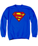 Crewneck Sweatshirt: Superman- Classic Logo T-Shirt