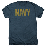 Longsleeve: Navy- Logo (Premium) T-Shirt
