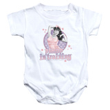 Infant: Bettie Page- Pin Up Onesie Infant Onesie