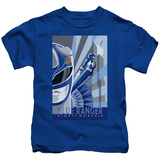 Juvenile: Power Rangers- Blue Ranger Deco Shirt