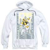 Hoodie: Power Rangers- White Ranger Deco Pullover Hoodie