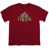 Youth: The Adventures Of Tintin- Looking For Clues T-shirts
