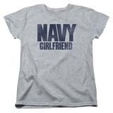 Womens:  Navy- Girlfriend T-shirts