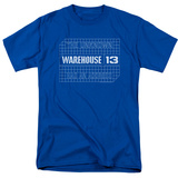 Warehouse 13- Blueprint Logo Shirt