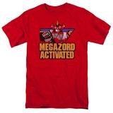 Power Rangers- Megazord Activated Shirt