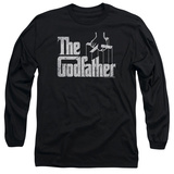 Long Sleeve: Godfather- Logo T-Shirt